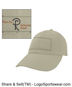 Unconstructed Chino Washed Twill Cap Design Zoom