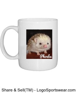Phoebe Coffee Mug with Ranch Logo on Back Design Zoom